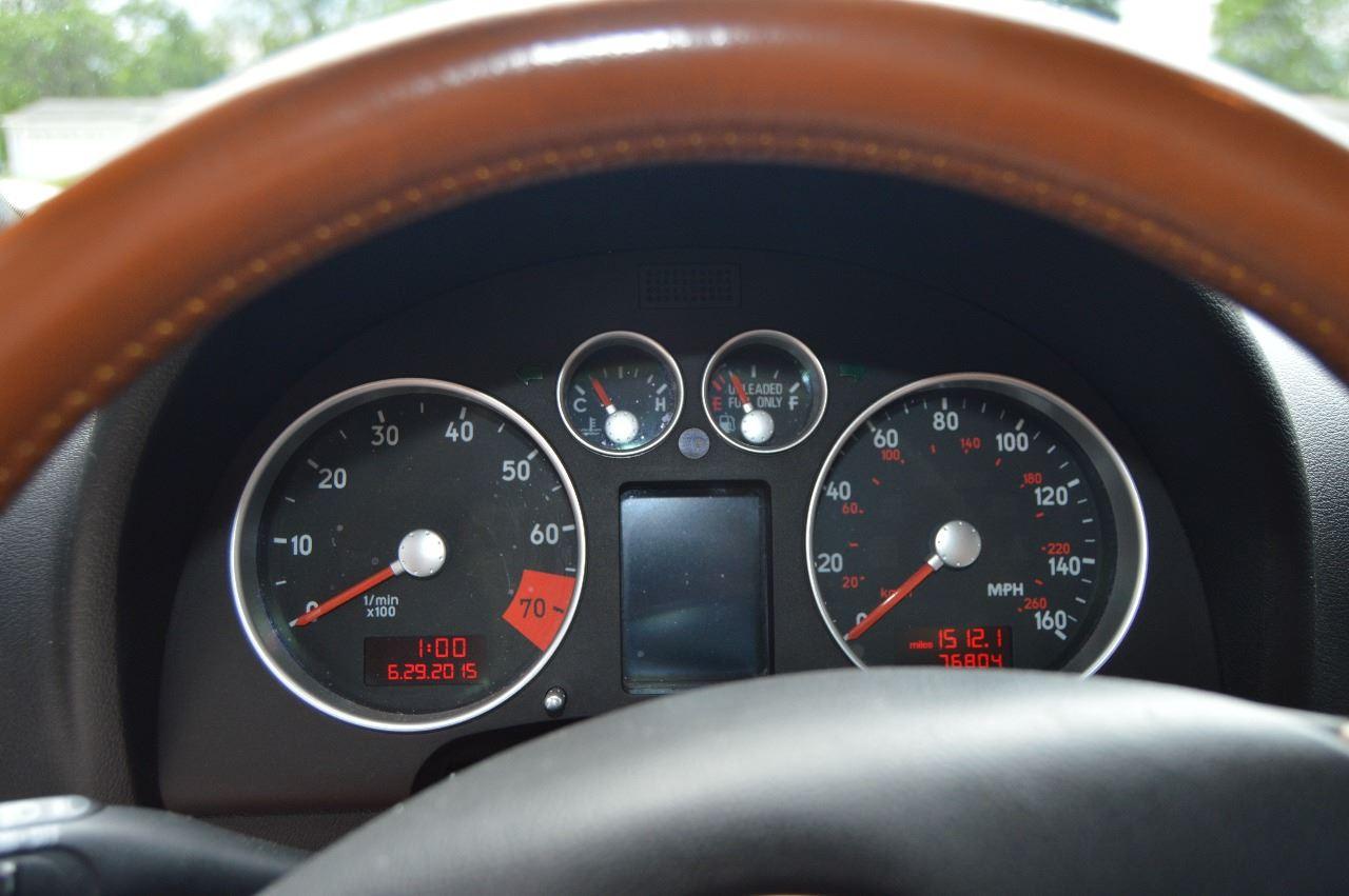2001 Audi TT AWD 225hp Quattro 2dr Roadster - Waterford MI