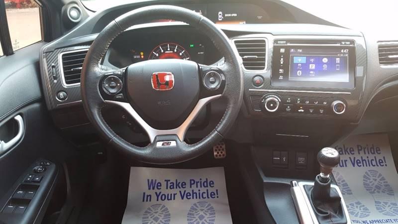 2014 Honda Civic Si 4dr Sedan w/Summer Tires - Villa Park IL