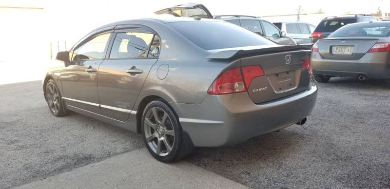 2007 Honda Civic Si 4dr Sedan W Navi And Summer Tires In Villa Park