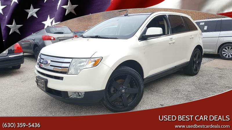 Ford Edge Awd Limited Dr Crossover In Villa Park Il Used Best Car Deals