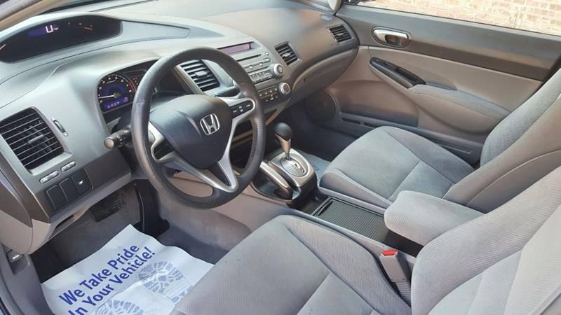 2010 Honda Civic LX 4dr Sedan 5A - Villa Park IL