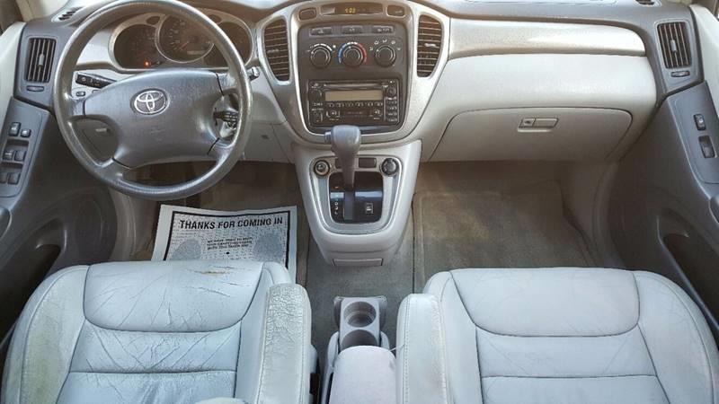 2001 Toyota Highlander V6 AWD 4dr SUV - Villa Park IL