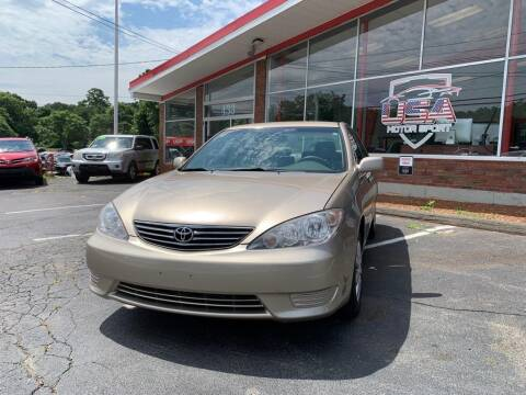2005 Toyota Camry for sale at USA Motor Sport inc in Marlborough MA