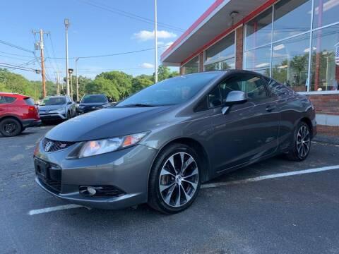 2013 Honda Civic for sale at USA Motor Sport inc in Marlborough MA