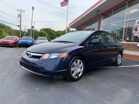 2007 Honda Civic for sale at USA Motor Sport inc in Marlborough MA