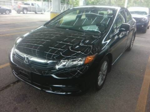 2012 Honda Civic for sale at USA Motor Sport inc in Marlborough MA