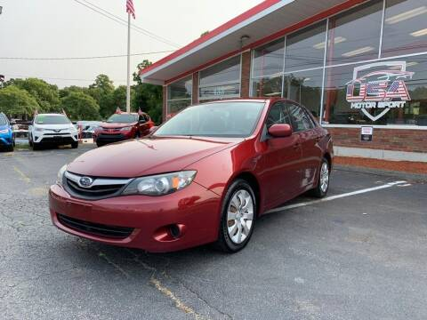 2011 Subaru Impreza for sale at USA Motor Sport inc in Marlborough MA
