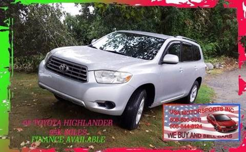2008 Toyota Highlander for sale in Marlborough, MA