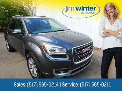2013 GMC Acadia for sale in Jackson, MI
