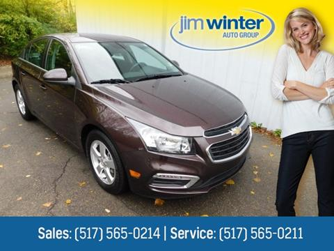2015 Chevrolet Cruze for sale in Jackson, MI