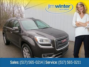 2013 GMC Acadia for sale in Jackson, MI