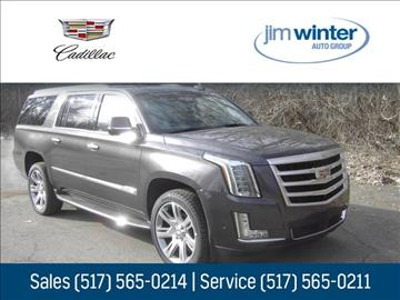 2017 Cadillac Escalade ESV for sale in Jackson, MI