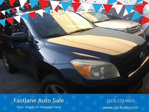 2007 Toyota RAV4 for sale at Fastlane Auto Sale in Los Angeles CA