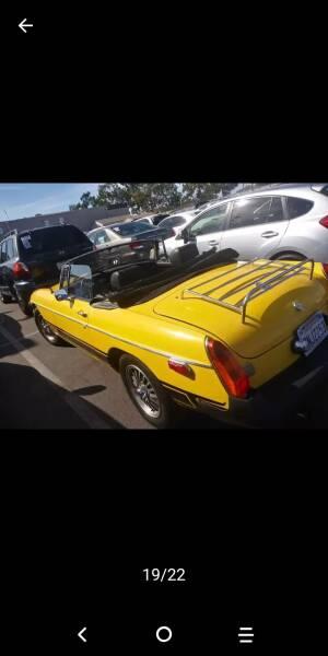 1976 MG MGB xlt - Los Angeles CA
