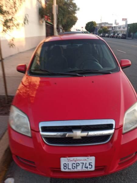 2010 Chevrolet Aveo LT 4dr Sedan w/1LT - Los Angeles CA