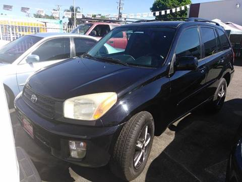 2003 Toyota RAV4 for sale at Fastlane Auto Sale in Los Angeles CA