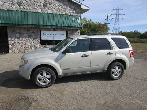 used 2008 ford escape for sale in michigan. Black Bedroom Furniture Sets. Home Design Ideas