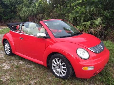 2004 Volkswagen New Beetle for sale in Fort Pierce, FL
