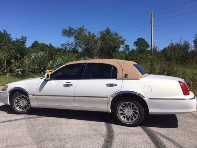 2002 Lincoln Town Car Signature 4dr Sedan In Sarasota Fl Krifer