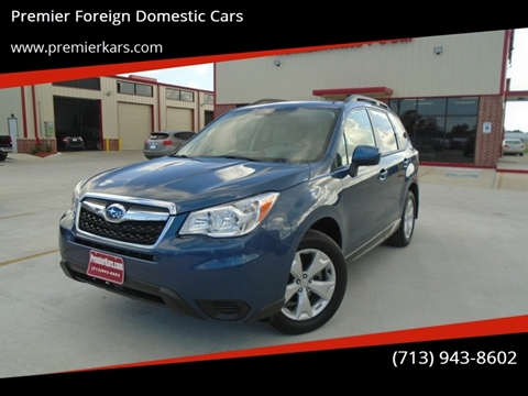 2014 Subaru Forester for sale in Houston, TX