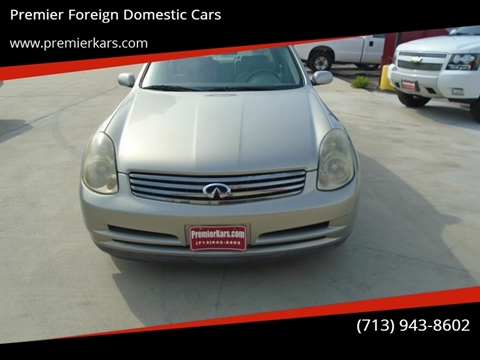 Premier Foreign Domestic Cars - Used Cars - Houston TX Dealer