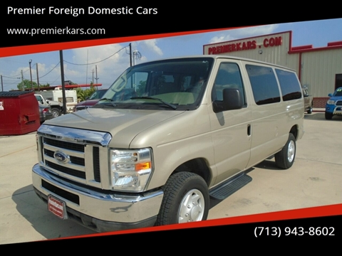 2008 Ford E-Series Wagon for sale in Houston, TX