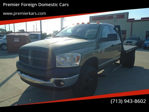 2007 Dodge Ram Chassis 3500 for sale in Houston, TX