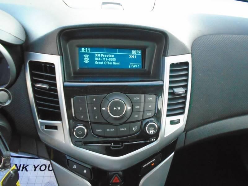 2012 Chevrolet Cruze LT 4dr Sedan w/1LT - Houston TX