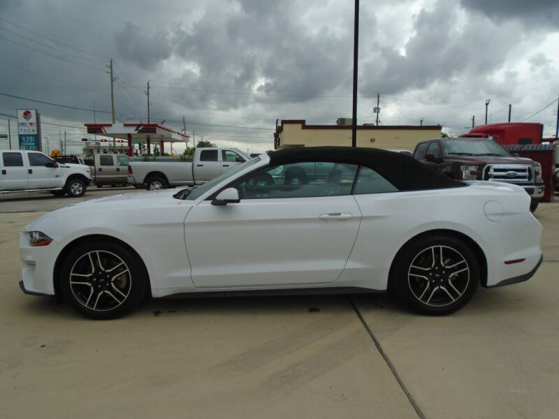 2019 Ford Mustang EcoBoost Premium 2dr Convertible - Houston TX