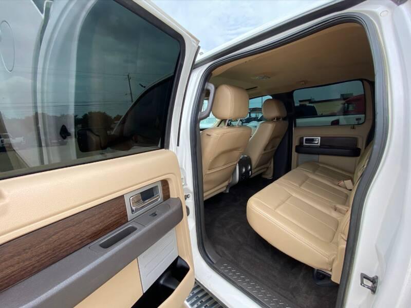 2013 Ford F-150 4x4 Lariat 4dr SuperCrew Styleside 5.5 ft. SB - Houston TX
