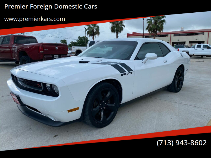 2012 Dodge Challenger R/T 2dr Coupe - Houston TX