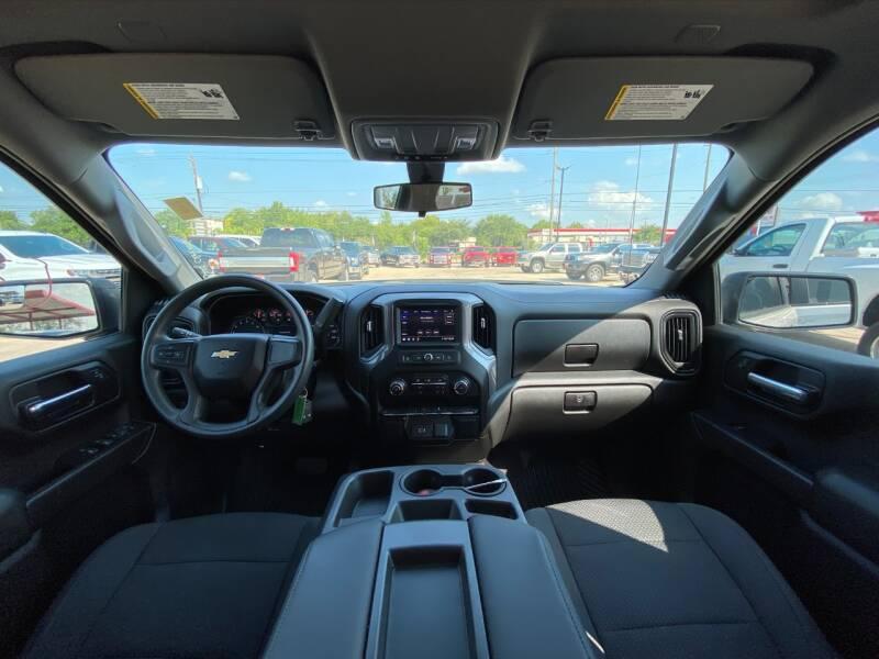 2020 Chevrolet Silverado 1500 4x4 Custom 4dr Crew Cab 5.8 ft. SB - Houston TX