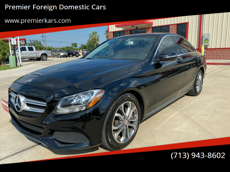 2016 Mercedes-Benz C-Class C 300 4dr Sedan - Houston TX