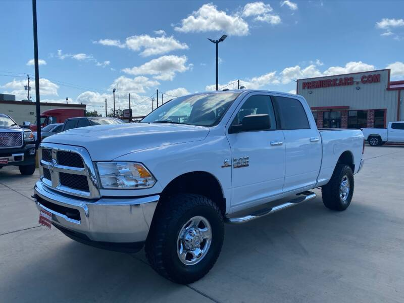 2013 RAM Ram Pickup 2500 4x4 SLT 4dr Crew Cab 6.3 ft. SB Pickup - Houston TX