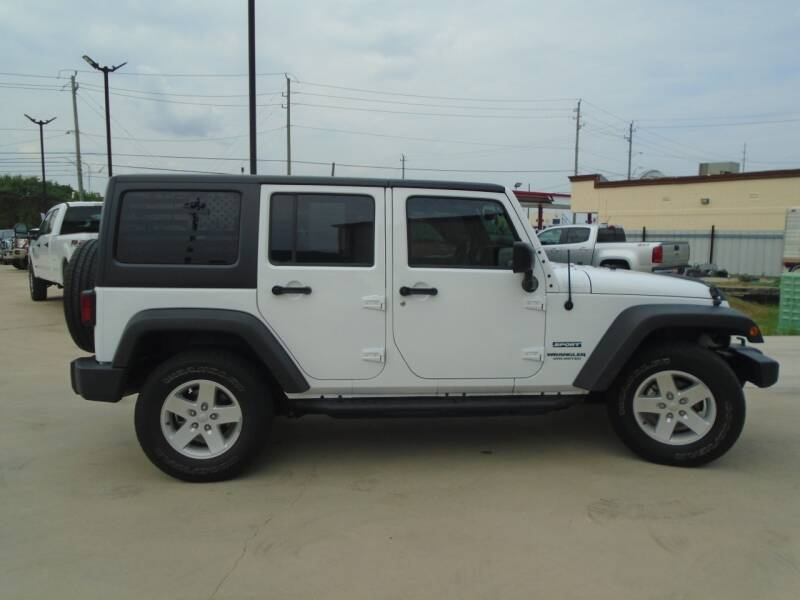 2017 Jeep Wrangler Unlimited 4x4 Sport 4dr SUV - Houston TX