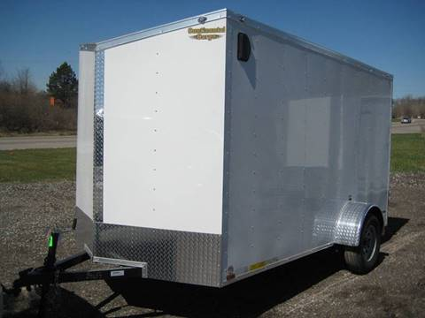 2018 Continental Cargo V-Series 6x12 Enclosed