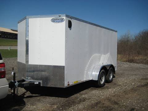 2018 Continental Cargo V-Series 7x14 Enclosed