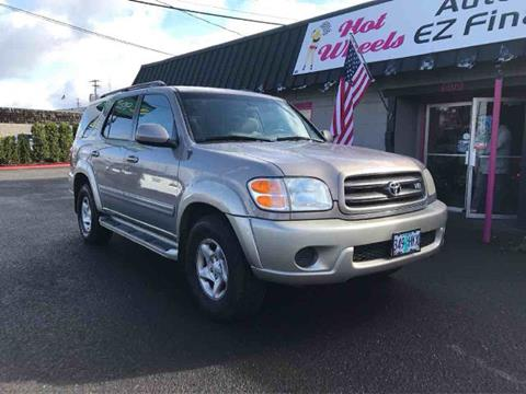 2002 Toyota Sequoia for sale in Vancouver, WA