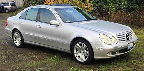 2003 Mercedes-Benz E-Class for sale in Vancouver, WA