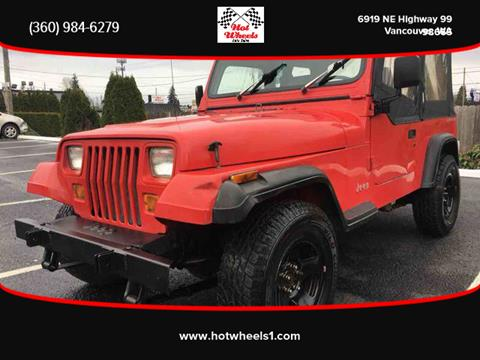 1991 Jeep Wrangler for sale in Vancouver, WA