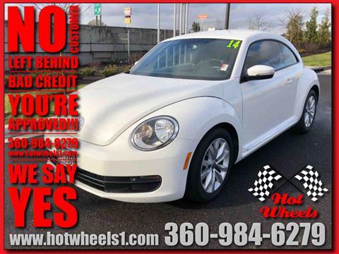 2014 Volkswagen Beetle for sale in Vancouver, WA