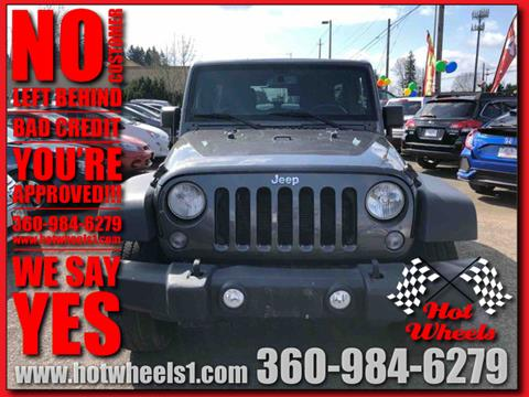 2014 Jeep Wrangler Unlimited for sale in Vancouver, WA