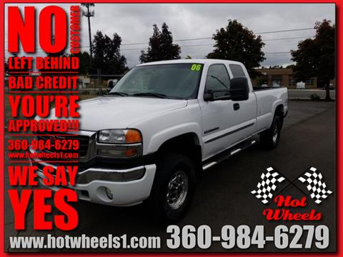 2006 GMC Sierra 2500HD for sale in Vancouver, WA