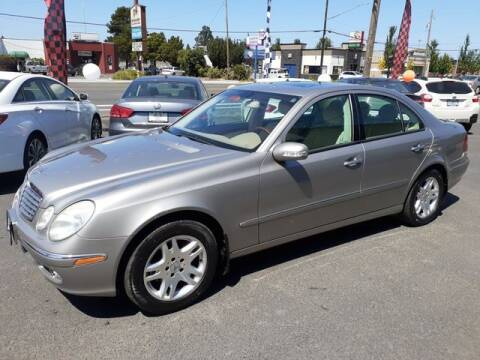 2003 Mercedes-Benz E-Class for sale at Hot Wheels LLC in Vancouver WA