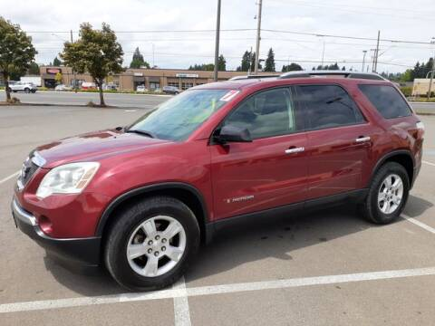 2007 GMC Acadia for sale at Hot Wheels LLC in Vancouver WA