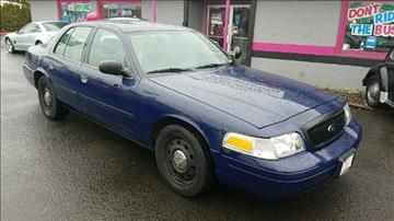 2010 Ford Crown Victoria for sale in Vancouver, WA