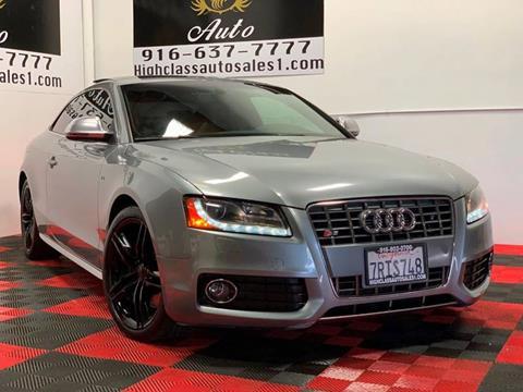 2009 Audi S5 for sale in Rancho Cordova, CA