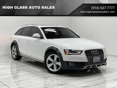 2014 Audi Allroad for sale at HIGH CLASS AUTO SALES in Rancho Cordova CA