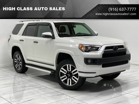2015 Toyota 4Runner for sale at HIGH CLASS AUTO SALES in Rancho Cordova CA