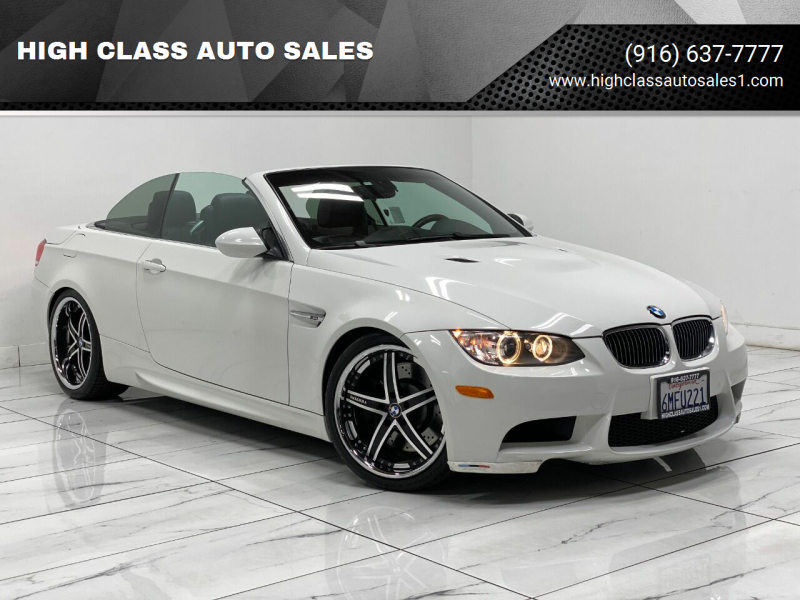 2008 BMW M3 for sale at HIGH CLASS AUTO SALES in Rancho Cordova CA
